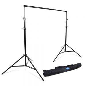 """Savage Port-a-Stand Background Support System Extends from 44″ to 8'10"""""""
